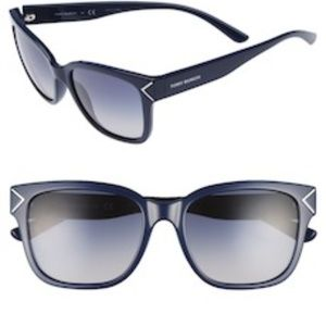 Tory Burch Navy Square Sunglasses Brand New!